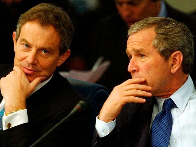 Hamas, Blair,y G.Bush: politiques d'exclusion