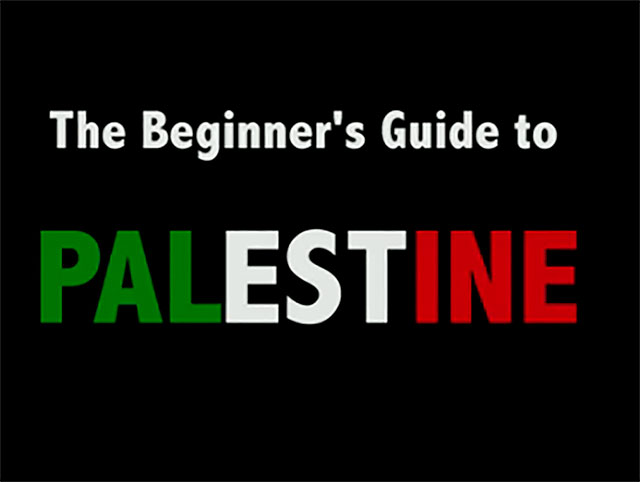 The beginners guide to Palestine (from RToP London Session)