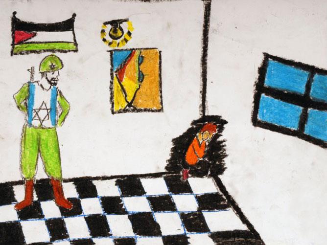 Gaza vista por sus niños (Dibujos censurados en Estados Unidos)