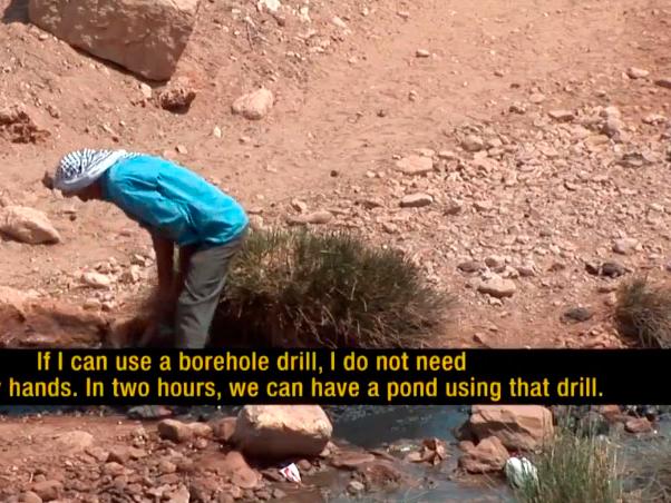 El color del agua – Parte 1, Palestina